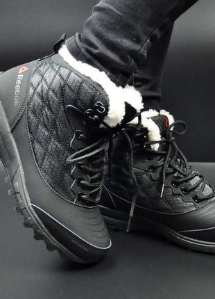 Зимние женские ботинки термо