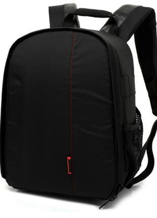 Фото рюкзак универсальный Canon EOS Черный с красным ( IBF012R1 )