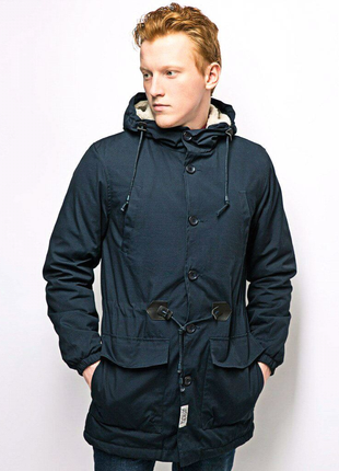 Парка d-struct by bellfield - talum navy куртка