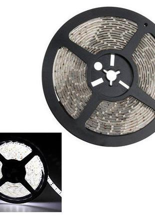 Светодиодная лента 5м, 300x 3528 SMD LED, белая
