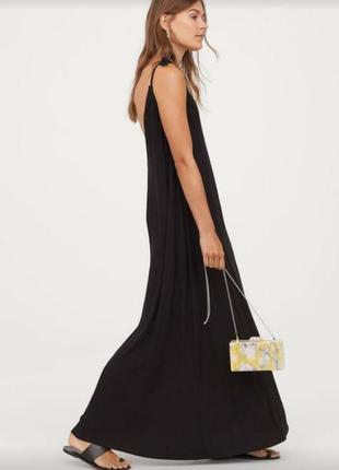 Базовое платье майка в пол размер s
