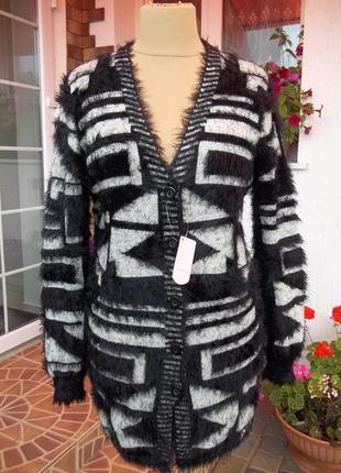 48/50 р кардиган кофта свитер джемпер пуловер травка