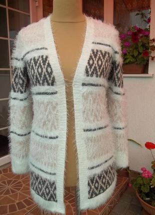 S-44 р кардиган кофта свитер джемпер пуловер травка женская
