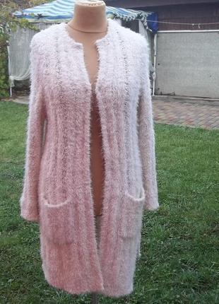 46 р f&f кардиган кофта свитер джемпер пуловер травка