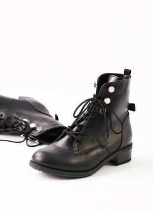 Lux обувь! детские зимние натуральные ботинки на шнуровке 30-35р