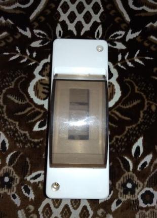 Щит пластиковый навесной для автоматических выключателей