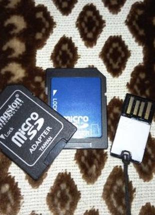 Micro sd adapter кардридер адаптер