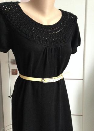 Теплое платье дорогого бренда весна-осень зима 100% котон mexx