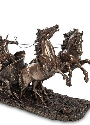 Статуэтка Veronese Ахиллес на колеснице 33х26 см 1903908