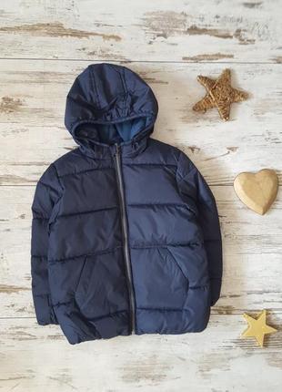 Теплая зимняя куртка на флисовой подкладке