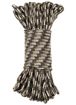 Веревка 9мм 15м MFH камуфляжная