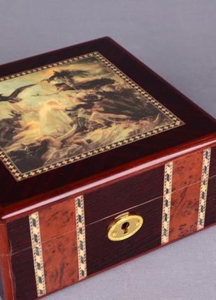 Шкатулка-хьюмидор для сигар Lefard (176-091)