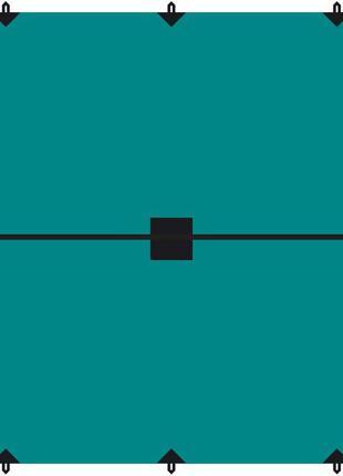 Тент походный Tramp 4x6м зелёный