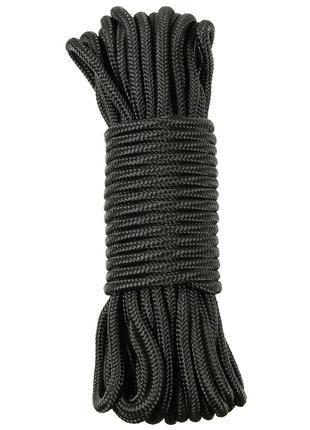 Веревка 9мм 15м MFH черная