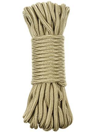 Веревка 9мм 15м MFH койот