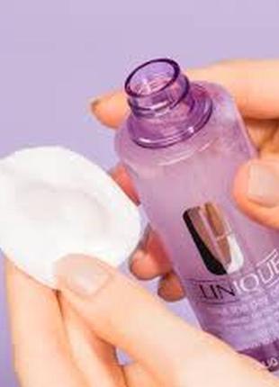 Clinique take the day off двухфазная жидкость для снятия макия...