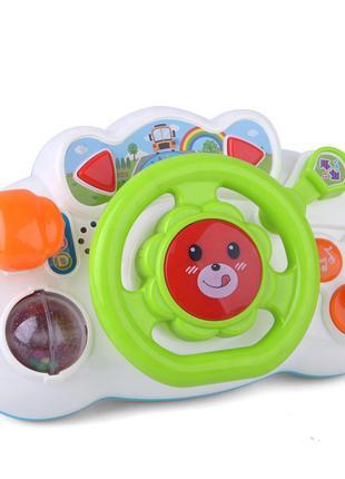 Руль (Зелёный (Green)) / Музыкальные игрушки / Развивающие игр...