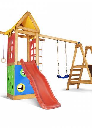 """Детский игровой комплекс с горкой, качелей и скалолазкой """"Baby..."""