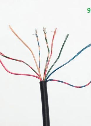 Аудио кабель провод 9 pin жил для ремонта оголовья Bluetooth н...