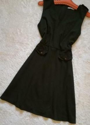 Tu платье в стиле karen millen плотный трикотаж размер м