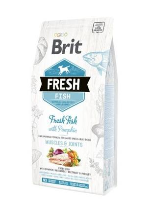 Brit Fresh Fish & Pumpkin Adult Large Muscles & Joints 12 kg