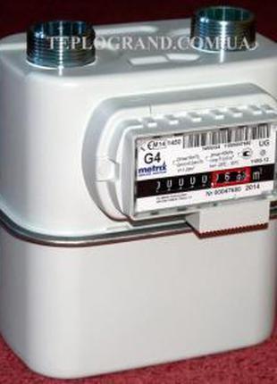 """Газовый счетчик Metrix G 4 Т (1 1/4"""") с термокомпенсатором"""