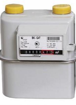 """Газовый мембранный счетчик Elster BK-G 4 MТ (1 ¼"""") с термокомп..."""
