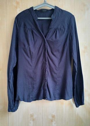 Синяя рубашка vero moda