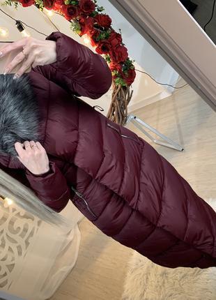 Куртка пальто женская зимняя