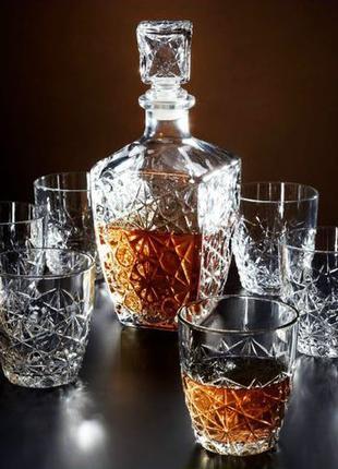 Набор для виски DEDALO Bormioli Rocco 7 пр.