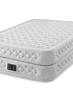 Двуспальная надувная кровать со встроенным электрическим насос...