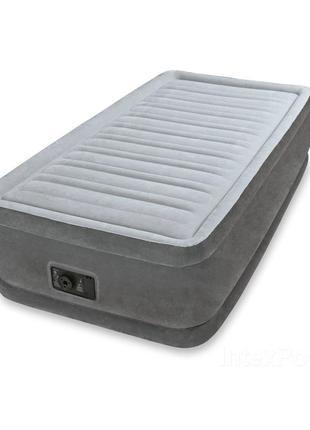 Надувная кровать Intex 64412, 99*191*46 см, встроенный электро...