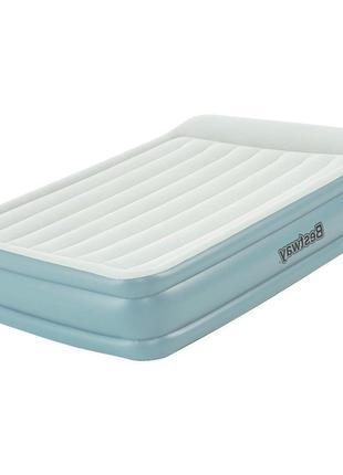 Надувная двухспальная кровать-матрас со встроенным электронасо...