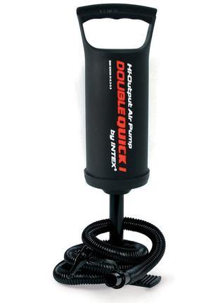Ручной насос для надувания Intex 68612 (объем 1.5 л, высота на...
