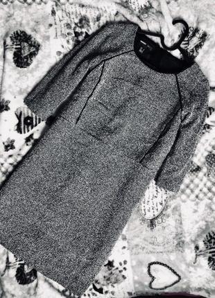 Платье mango, прямой крой