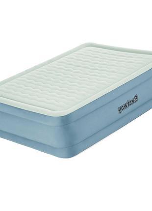 Двухспальная надувная кровать со встроенным электронасосом Bes...