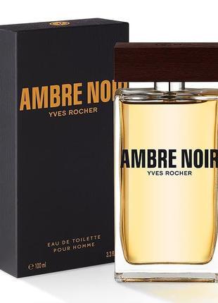 Туалетная вода ambre noir 100мл черная амбра ив роше yves roch...