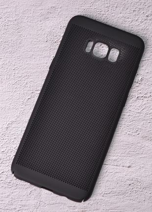 Чехол накладка Loco для Samsung Galaxy S8 Plus/G955 black