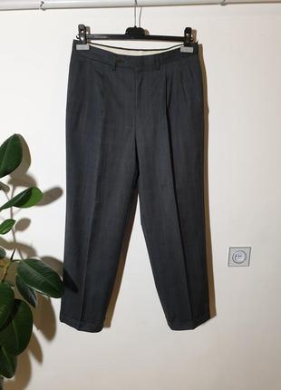 Шерстяные брюки lanvin paris