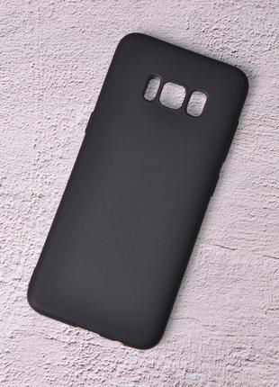Силиконовый чехол SlimCase для Samsung Galaxy S8 Plus/G955 black