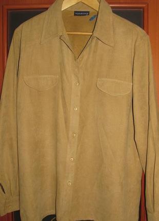 Новейшая рубашка из искуственного замша, мягкая и красивая, бо...