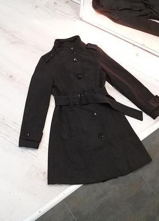 Пальто тренч тепле осіннє шерстяне ,  пальто осеннее