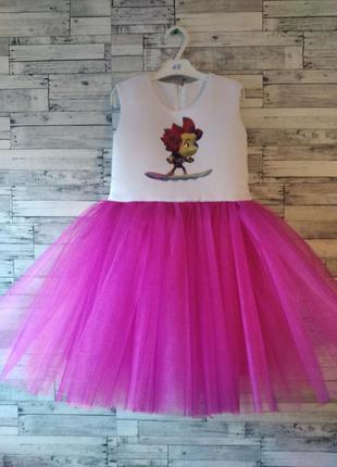 Платье фиксики для девочки, детское