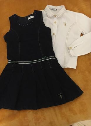 Платье-сарафан бархат