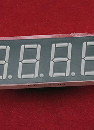 """4-разрядный 7-сегментный индикатор 0.56"""" красный 12pin катод A..."""