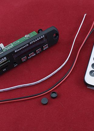 Встраиваемый MP3 плеер, Bluetooth, FM, усилитель, USB, microSD...