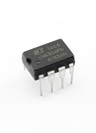 Чип LNK304PN LNK304 DIP8, импульсный стабилизатор
