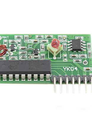4-канальный беспроводной радиомодуль ключ, пульт ДУ, Arduino