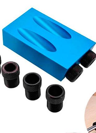 Мебельный кондуктор для сверления отверстий под косой шуруп по...
