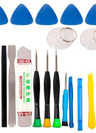 Набор инструментов для вскрытия корпусов разборки ремонта теле...